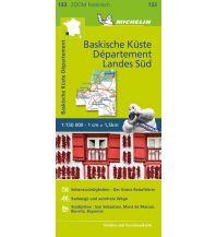 Straßenkarten Frankreich Michelin Baskische Küste - Das Departement Landes Süd Michelin