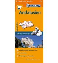 Straßenkarten Spanien Michelin Regional Map 578, Andalusien 1:400.000 Michelin