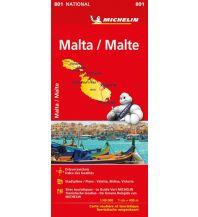 Straßenkarten Malta Michelin Malta 1:50.000 Michelin