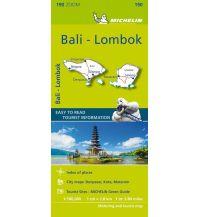 Straßenkarten Michelin Bali, Lombock Michelin