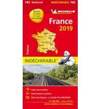 Straßenkarten Michelin Frankreich 2020 (widerstandsfähig) Michelin