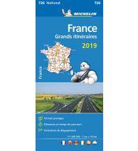 Straßenkarten Michelin Frankreich Fernrouten 2020 Michelin