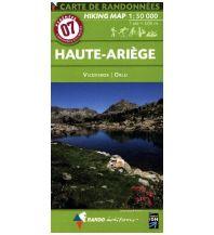 Wanderkarten Pyrenäen Carte de Randonnees 7 Pyrenäen - Haute-Ariege, Vicdessos, Orlu 1:50.000 Rando Editions