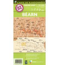 Wanderkarten Pyrenäen Carte de Randonnees 3 Pyrenäen - Bearn-Aspe-Ossau-Parc National des Pyrenees 1:50.000 Rando Editions