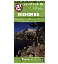 Wanderkarten Pyrenäen Carte de Randonnees 4 Pyrenäen - Bigorre - Parc National des Pyrenees 1:50.000 Rando Editions