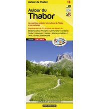 Wanderkarten Italien Libris Carte grand Air 16, Autour du Thabor 1:50.000 Libris