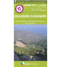 Wanderkarten Spanien Carte de Randonnées 11 Pyrenäen, Collioure-Cadaqués 1:50.000 Rando Editions