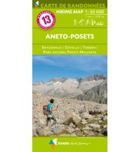 Wanderkarten Carte de Randonnees 13 Pyrenäen - Aneto-Posets 1:50.000 Rando Editions