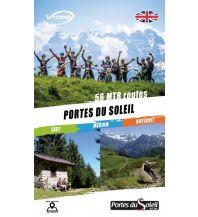 Radführer VTopo MTB Guide Frankreich - Portes du Soleil Vtopo