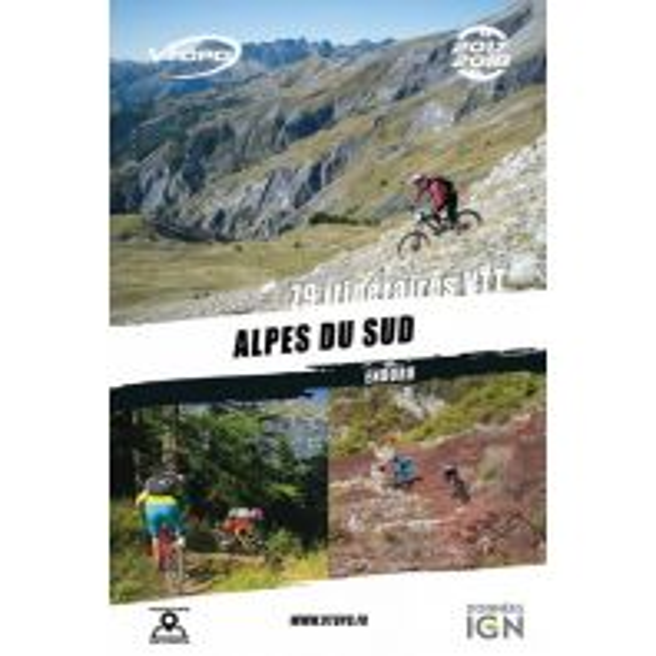 Radführer VTopo MTB-Guide Frankreich - Alpes du Sud Enduro Vtopo
