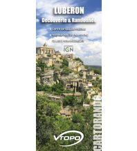 Wanderkarten Frankreich VTopo Découverte & Randonnée Luberon 1:58.000 Vtopo