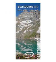 Wanderkarten VTopo WK Frankreich - Belledonne Sud 1:36.000 Vtopo