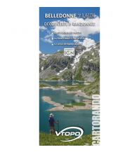 Wanderkarten VTopo WK Frankreich - Belledonne 7 Laux 1:25.000 Vtopo