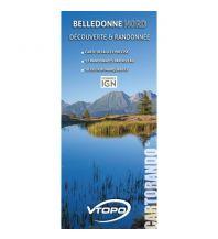 Wanderkarten VTopo WK Frankreich - Belledonne Nord 1:29.000 Vtopo