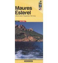 Wanderkarten Frankreich Carte 15, Maures, Esterel 1:60.000 Libris