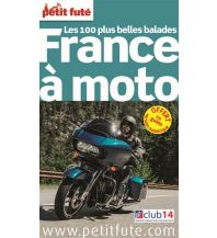 Motorradreisen Petit Fute Motorradführer Frankreich - France a moto Le Petit Fute Paris