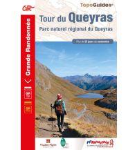 Weitwandern FFRP Topo Guide 505, Tour du Queyras Federation Francaise de la Randonnee