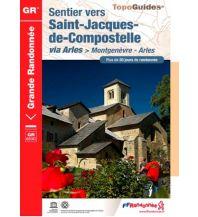 Weitwandern Sentier vers Saint-Jacques-de-Compostelle - Via Arles Federation Francaise de la Randonnee