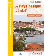 Wanderführer Topo Guide P642, Le Pays basque à pied Federation Francaise de la Randonnee