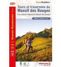 FFRP Topo Guide 902 Frankreich - Tours et traversees du Massif des Bauges Federation Francaise de la Randonnee