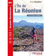 Wanderführer FFRP Grande Randonnée 974, L'Île de La Réunion Federation Francaise de la Randonnee