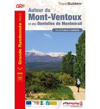 Weitwandern FFRP Topo Guide 8400, Autour du Mont Ventoux Federation Francaise de la Randonnee
