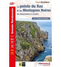 FFRP Topo Guide 348 Frankreich - Le pointe du Raz et les Montagnes Noires Federation Francaise de la Randonnee
