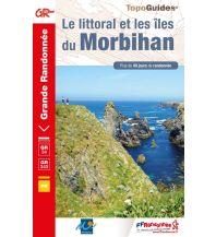 FFRP Topo Guide 561 Frankreich - Le littoral et les iles du Morbihan Federation Francaise de la Randonnee