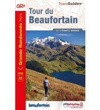 Weitwandern FFRP Topoguide 731, Tour du Beaufortain Federation Francaise de la Randonnee