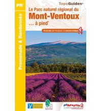 FFRP Topo Guide PN23, Le PNR du Mont-Ventoux à pied Federation Francaise de la Randonnee