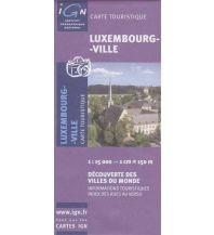 Stadtpläne Luxemburg - Stadt 1:15.000 Institut Geographique National