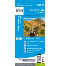 Wanderkarten Pyrenäen IGN Carte 1346 ET, Forêt d'Iraty, Pic d'Orhy 1:25.000 Institut Geographique National