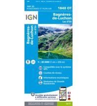 Wanderkarten Pyrenäen IGN Carte 1848 OT, Bagnères-de-Luchon 1:25.000 Institut Geographique National