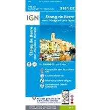 Wanderkarten Frankreich IGN Carte 3144 OT, Étang de Berre 1:25.000 Institut Geographique National
