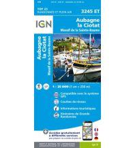 Wanderkarten Frankreich IGN Carte 3245 ET, Aubagne, la Ciotat 1:25.000 Institut Geographique National