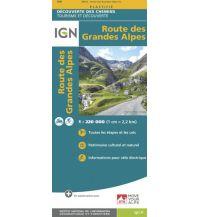 Straßenkarten Deutschland IGN Découverte des Chemins 024, Route des Grandes Alpes 1:220.000 Institut Geographique National
