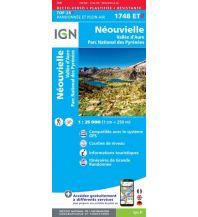 Wanderkarten Pyrenäen IGN WK 1748 ET-R Frankreich, Néouvielle 1:25.000 Institut Geographique National