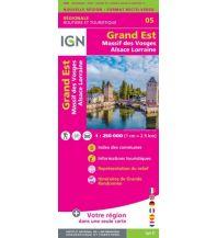 Straßenkarten Frankreich IGN Carte NR05 Frankreich - Grand Est - Massif des Vosges, Alsace / Elsass, Lorraine 1:250.000 Institut Geographique National