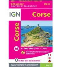 Straßenkarten Frankreich IGN Carte Mini Regionale Frankreich - Corse / Korsika 1:250.000 Institut Geographique National