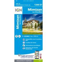 Wanderkarten Frankreich IGN Carte 1340 ET, Mimizan 1:25.000 Institut Geographique National
