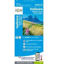 Wanderkarten Frankreich IGN Carte 3435 ET, Valloire 1:25.000 Institut Geographique National