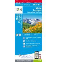 Wanderkarten Frankreich IGN Carte 3436 ET-R, Meije, Pelvoux 1:25.000 Institut Geographique National