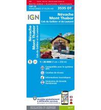 Wanderkarten Frankreich IGN Carte 3535 OT-R, Névache, Mont Thabor 1:25.000 Institut Geographique National