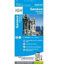 Wanderkarten Schweiz & FL IGN Carte 3429 OT, Genève/Genf 1:25.000 Institut Geographique National