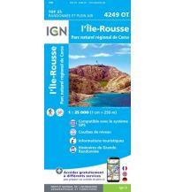 Wanderkarten Frankreich IGN Carte 4249 OT, L'Île-Rousse 1:25.000 Institut Geographique National