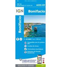 Wanderkarten Frankreich IGN Carte 4255 OT, Bonifacio 1:25.000 Institut Geographique National