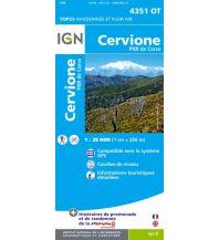 Wanderkarten Frankreich IGN Carte 4351 OT, Cervione 1:25.000 Institut Geographique National