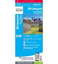 Wanderkarten Frankreich IGN Carte 3536 OT-R, Briançon, Serre Chevalier, Montgenevre 1:25.000 Institut Geographique National