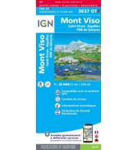 Wanderkarten Frankreich IGN Carte 3637 OT-R, Mont Viso 1:25.000 Institut Geographique National