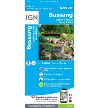 Wanderkarten Frankreich IGN Carte 3619 OT Frankreich - Bussang 1:25.000 Institut Geographique National